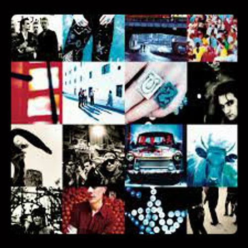 U2 Achtung Baby - New EU Import LP on COLORED VINYL