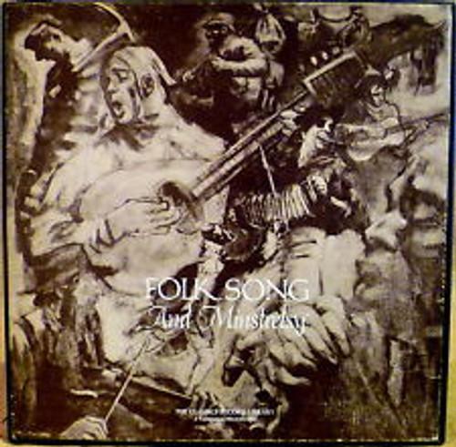 Folk Song and Minstrelsy -'62 Vanguard 4 LP Box Set  w/Vinyl and Booklet