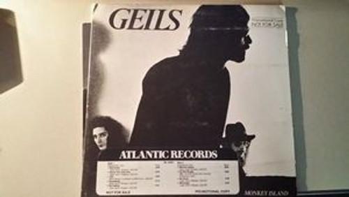 Monkey Island, J. GEILS - 1977 Promo Release w/Timing Strip