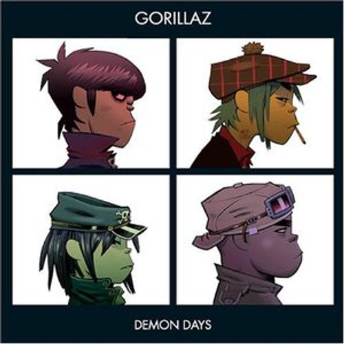 GORILLAZ Demon Days - New Colored Vinyl Double LP Import