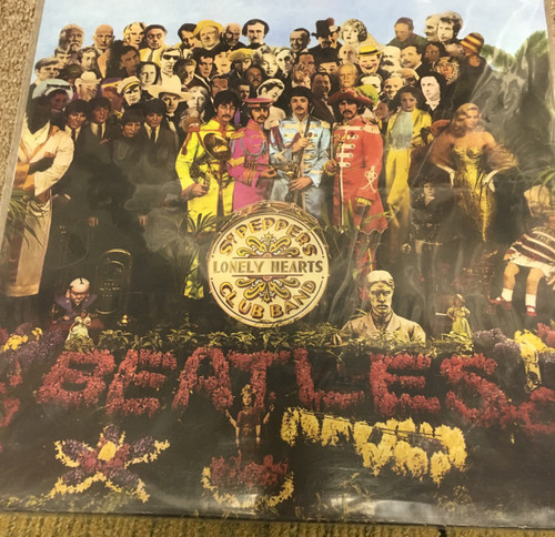 The Beatles Sgt Pepper S Lonely Hearts Club Band New Red