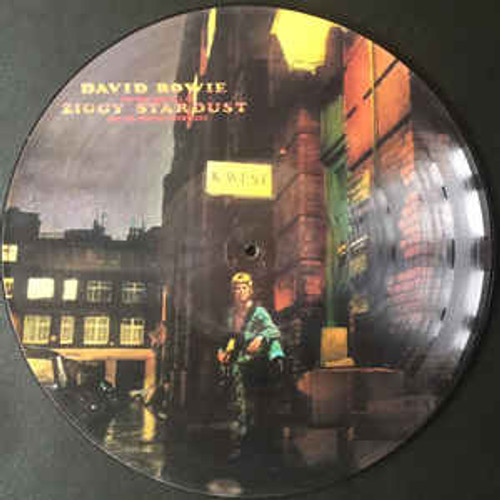 DAVID BOWIE Ziggy Stardust - New EU Import Vinyl Picture Disc LP