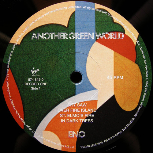 Brian Eno Another Green World New Uk Half Speed Double Lp 45rpm