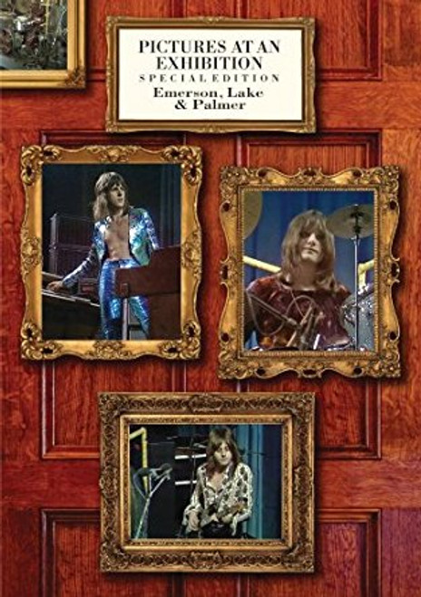 EMERSON, LAKE & PALMER Pictures At An Exhibition -New DVD, Spec  Ed