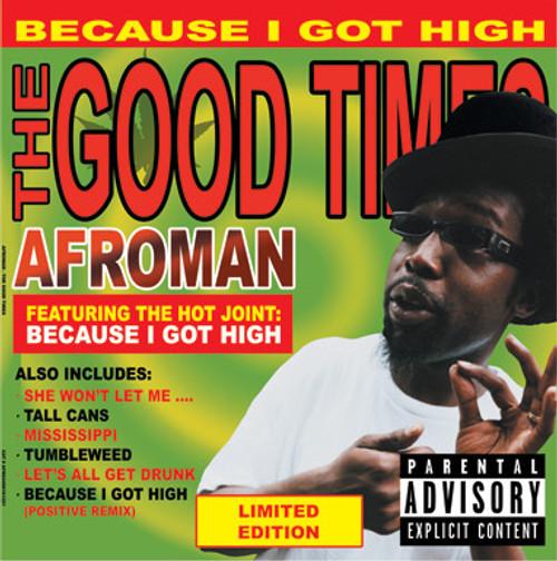 AFROMAN The Good Times -  Double Colored Vinyl LP w/Bonus Track!