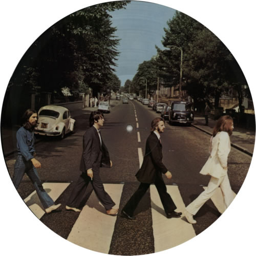THE BEATLES  Abbey Road Picture Disc - New Australian Limited Import