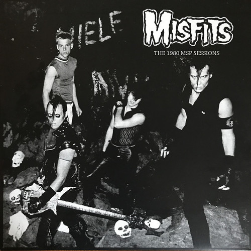 MISFITS The 1980 MSP Sessions - New Import LP with 12 Tracks