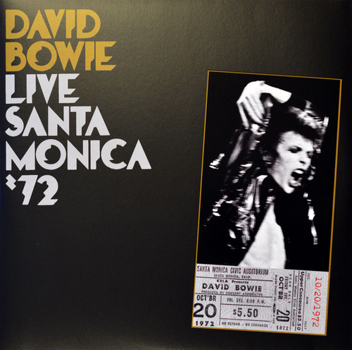 DAVID BOWIE Santa Monica '72 - Sealed Remastered Double Vinyl