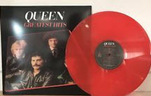 QUEEN Greatest Hits - New EU Import on Red Vinyl w/17 UK Tracks List