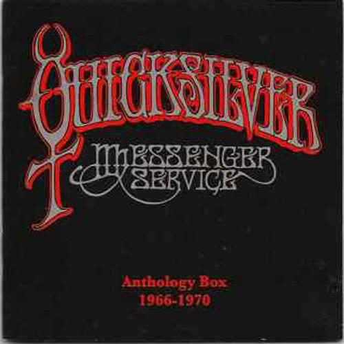 QUICKSILVER Anthology Box Set 1966-1970 - Like New 3 CD/DVD Box