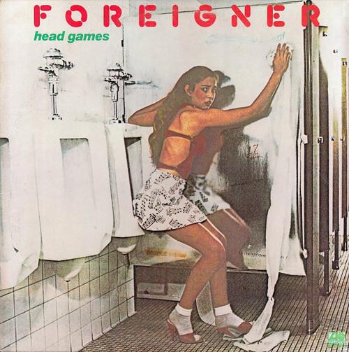 FOREIGNER  Head Games - Original LP w/Mint Vinyl
