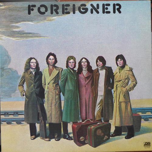 FOREIGNER Self-Titled LP - 1977 Release w/Like New Vinyl, Insert Sleeve