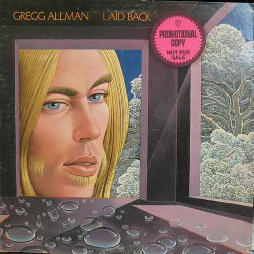 GREGG ALLMAN Laid Back - Original Promo LP w/Like New WL Vinyl
