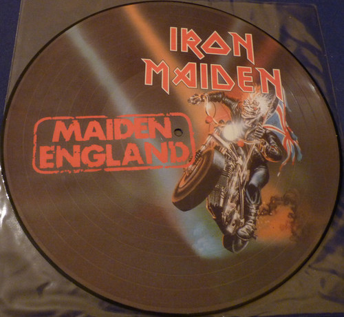 IRON MAIDEN  Maiden England - New UK Import Picture Disc