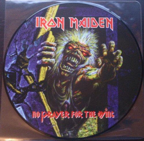 IRON MAIDEN No Prayer for the Dying - New EU Import  Vinyl Picture Disc