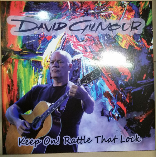 DAVID GILMOUR Keep On! Rattle That Lock - Sealed Vinyl LP,  Ltd. Edition