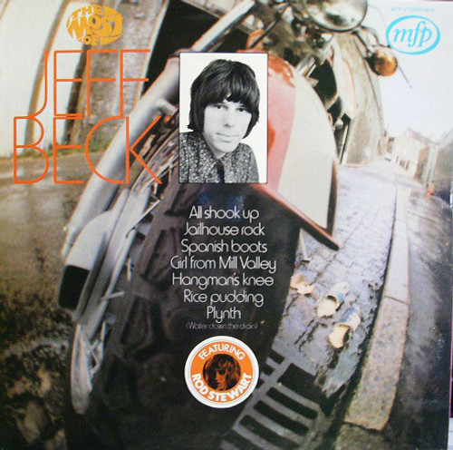 JEFF BECK The Most of Jeff Beck - 1971 UK  Vinyl LP w/Rod the Mod