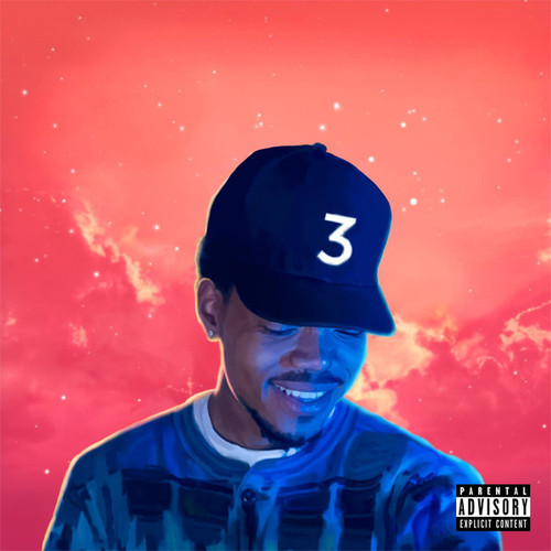 CHANCE THE RAPPER  Coloring Book Mixtape CD