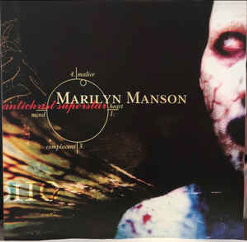 MARILYN MANSON Antichrist Superstar - New Double LP, White Vinyl
