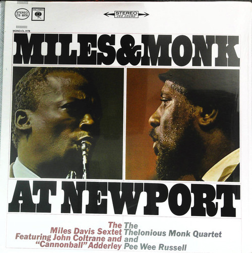 MILES DAVIS Miles & Monk - Original 1963 LP w/Mint Vinyl & Cover