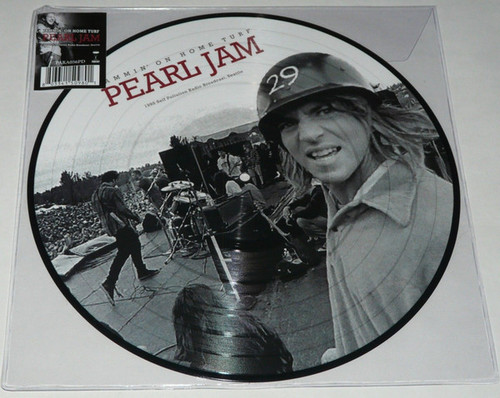 PEARL JAM Self Pollution 1995 Radio Broadcast - New Picture Disc