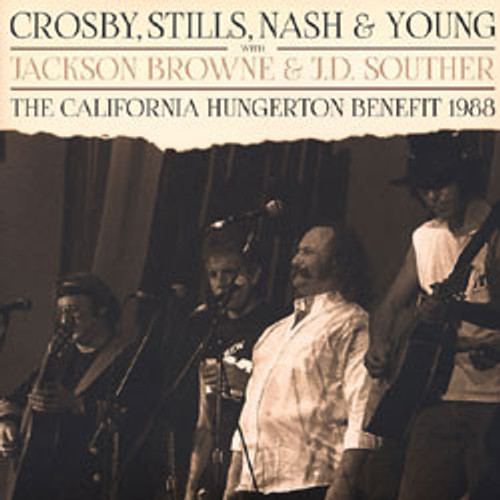 Crosby, Stills, Nash & Young , California Hungerton '88 - Sealed DBL Vinyl