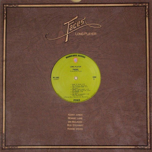 FACES Long Player - 1971 Vinyl with Shrink Cover