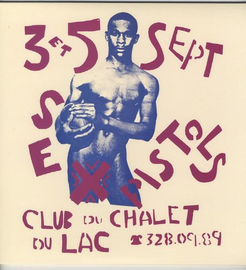 SEX PISTOLS Club Du Chalet Du Lac - New Import DBL LP, Colored Vinyl