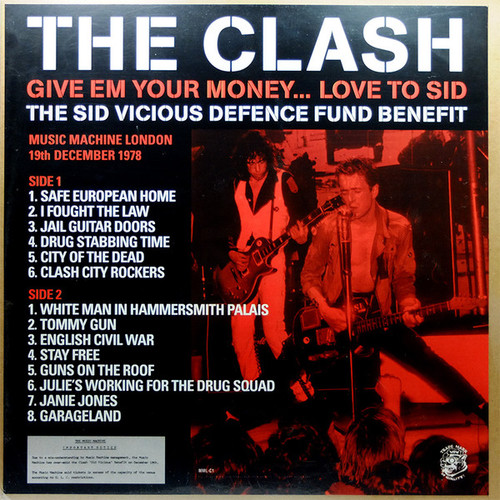 THE CLASH Give Em Your Money..Love to Sid - New EU Import Vinyl LP