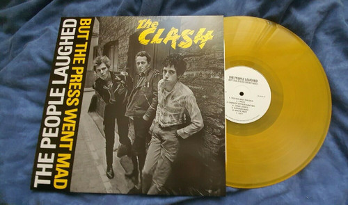THE CLASH The People Laughed - New EU Import LP on Yellow Vinyl