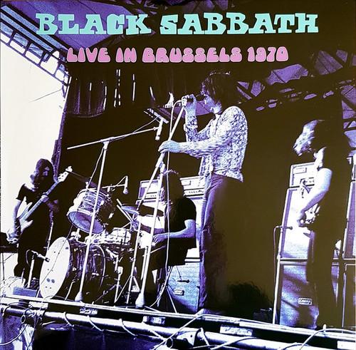 BLACK SABBATH Live in Brussels 1970 -  New 2019 French Import Vinyl LP