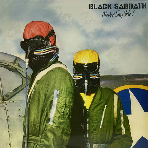 BLACK SABBATH Never Say Die - New Import LP on RED Vinyl, On Vertigo