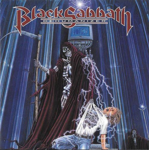 BLACK SABBATH Dehumanizer - New Import LP on Blue Vinyl, IRS Labels