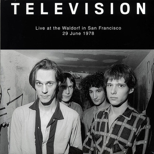 TELEVISION Live at the Waldorf in San Francisco - Sealed Vinyl LP, Live '78