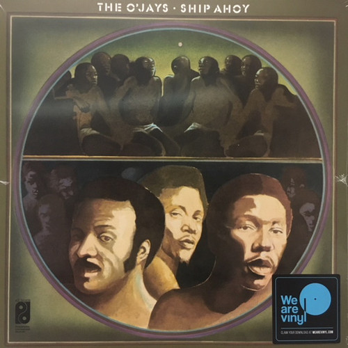 THE O'JAYS Ship Ahoy - Sealed 2018 Vinyl Reissue LP