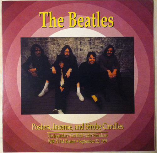 BEATLES Posters, Incense, And Strobe Candles - Rare Purple Vinyl LP