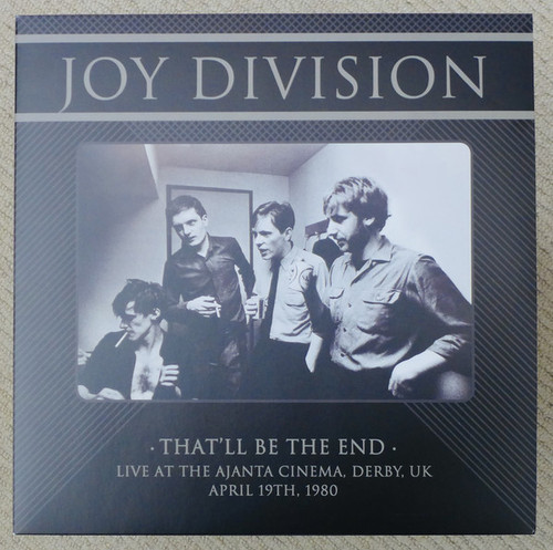 JOY DIVISION That'll Be the End - Sealed Limited Edition EU Vinyl LP