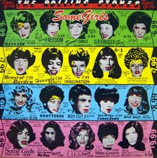 Some Girls Rolling Stones Original 76 Die Cut Cover In