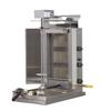 Inoksan PDG103M Natural Gas Gyro Machine, Top Motor, 3 Double Burner, Wire Mesh