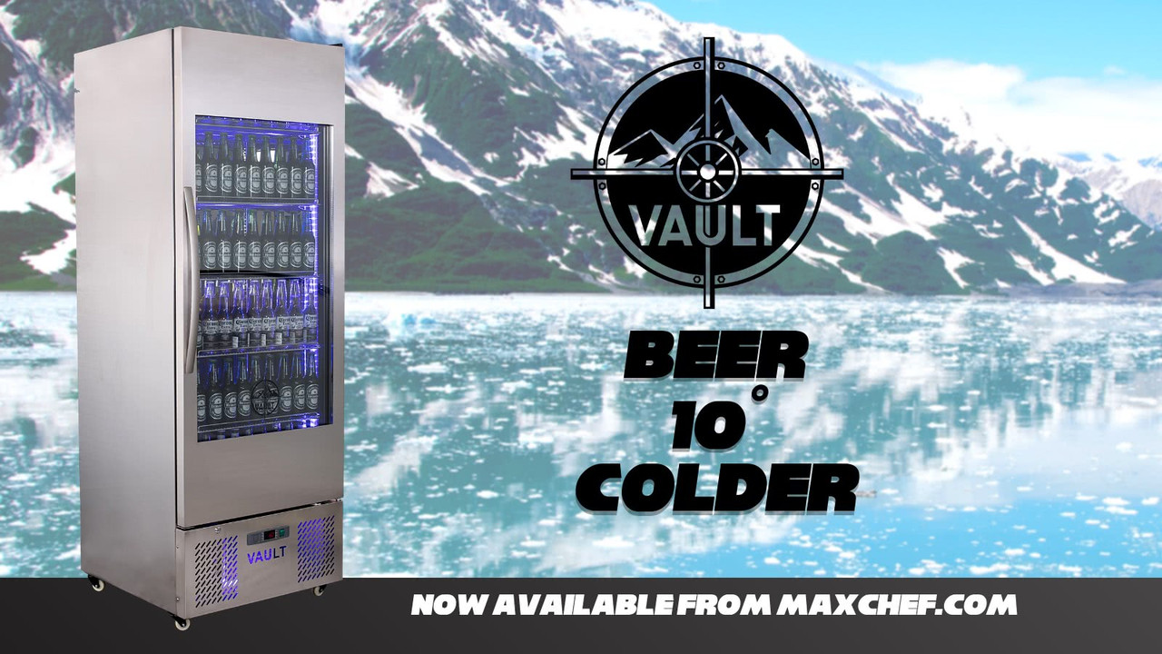 Vault Beer Cooler is now available on MaxChef!