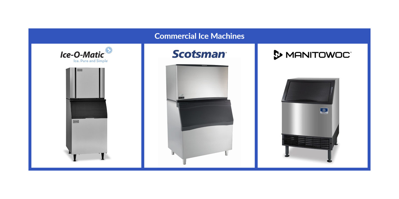 Our selection of ice machines are great for any bar, hotel and restaurants..