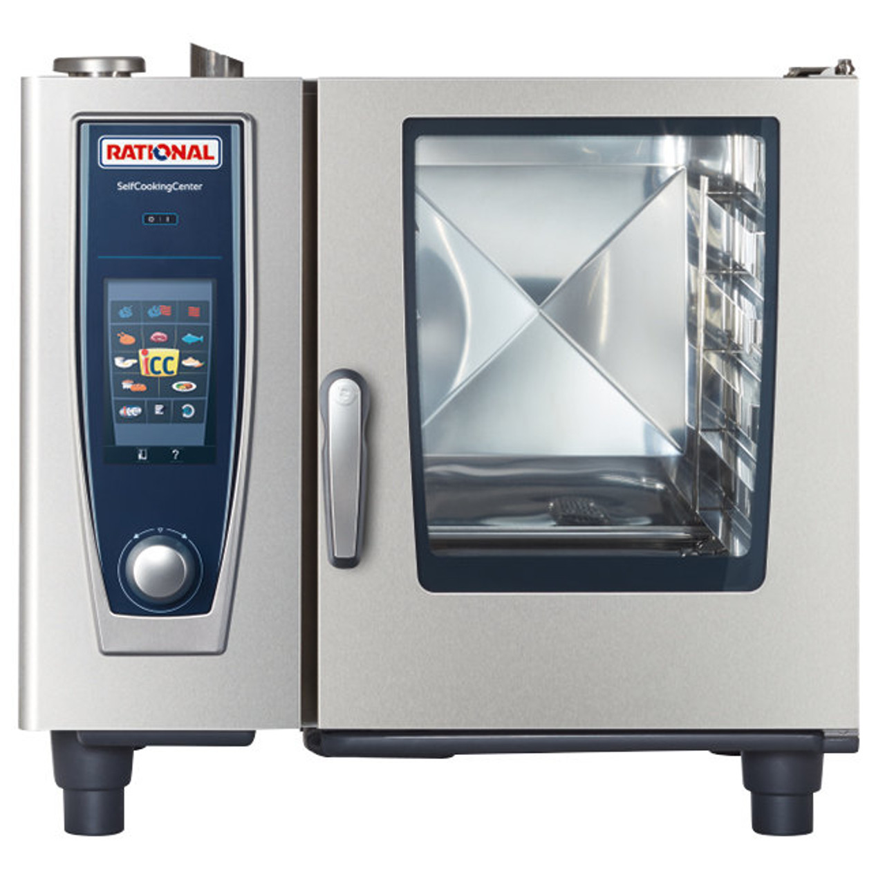 Rational B618106 12 SelfCookingCenter Model 61 Electric Combi Oven - 6 Pans  - 208/240V 3 Phase