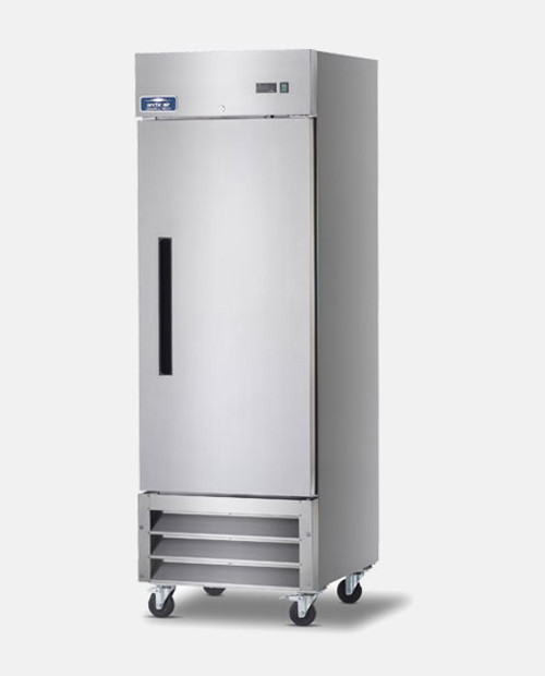 Arctic Air AF23 Single Door Reach-In Freezer - Stainless Steel