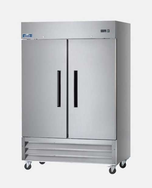 Arctic Air AR49 Two Door Reach-In Refrigerator - Stainless Steel