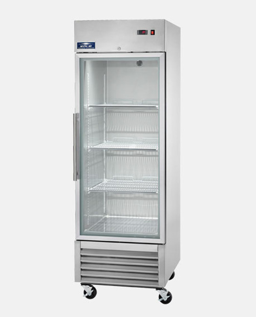 Arctic Air AGR23 Single Glass Door Reach-In Refrigerator
