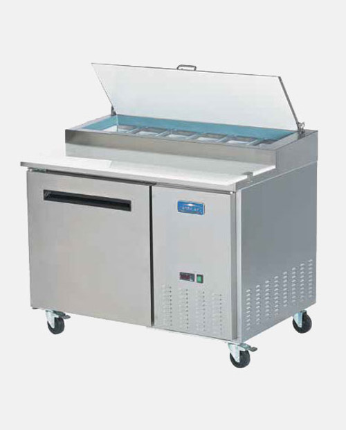 "Arctic Air APP48R 48"" Pizza Prep Table - 2 Doors"
