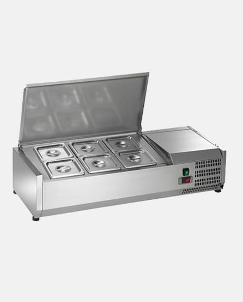 Arctic Air ACP40 Refrigerated Countertop Food Prep Unit - 6 Pans