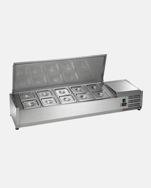 Arctic Air ACP55 Refrigerated Countertop Food Prep Unit - 10 Pans