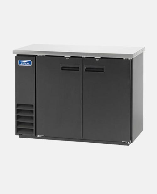 """Arctic Air ABB48 48"""" Back Bar Refrigerator, 2 Solid Doors"""