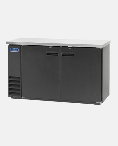 """Arctic Air ABB72 72"""" Back Bar Refrigerator, 3 Solid Doors"""